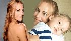 مريم أوزرلي مع مولودتها الجديدة وتطلق عليها هذا الاسم