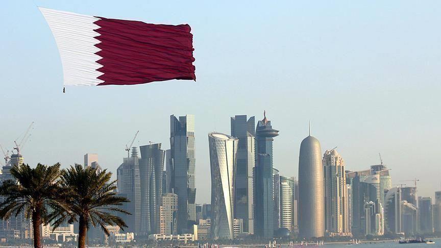 السفير القطري يستقبل سفراء الامارات والكويت والتعاون الخليجي ودول عربية