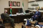 بحث سبل التعاون بين جامعة البترا والسفارة القبرصية