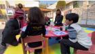 الطفل نور يتلو آيات من القرآن الكريم أمام الملك والملكة خلال زيارتهما إلى مؤسسة الحسين الاجتماعية لرعاية الأيتام في ذكرى يوم الوفاء للحسين