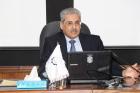 أمين عام المجلس الأعلى للعلوم والتكنولوجيا يحاضر في كلية الدفاع الوطني