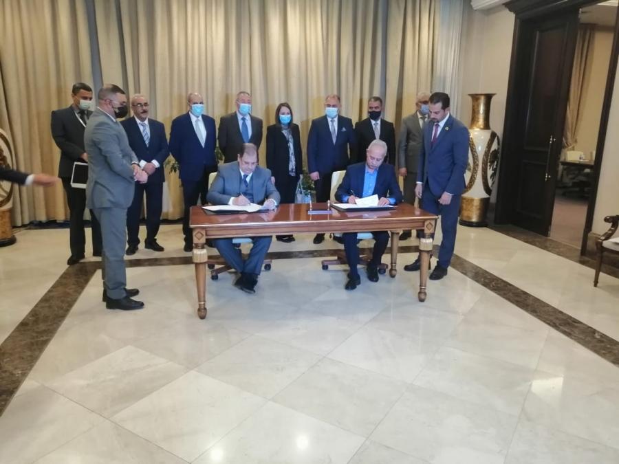 اتفاقية توأمة بين صناعة الأردن واتحاد الصناعات العراقية