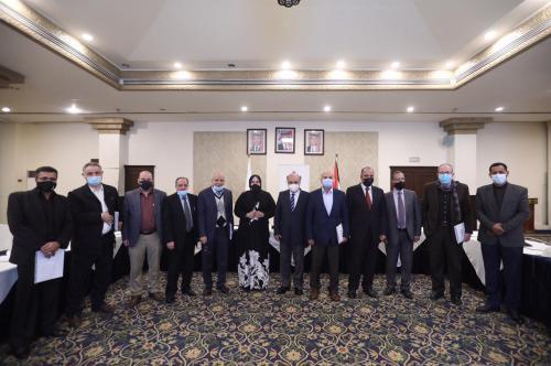 النابلسي يرعى فعاليات الجلسة النقاشية لمسودة منهاج بناء الشباب