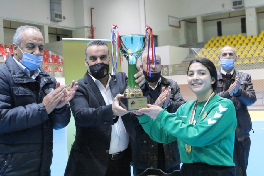 فريق عمان بطلا لدوري الناشئات لكرة اليد