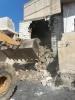 بلدية عجلون تزيل انهيار احد البيوت القديمة