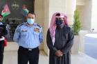 مدير الأمن العام يلتقي رئيس الاتحادين القطري والعربي للرياضة الشرطية.