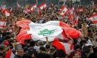 مظاهرات في مدن لبنانية احتجاجا على انخفاض الليرة