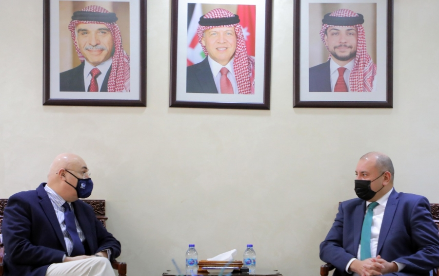 رئيس مجلس النواب يلتقي السفير الجورجي