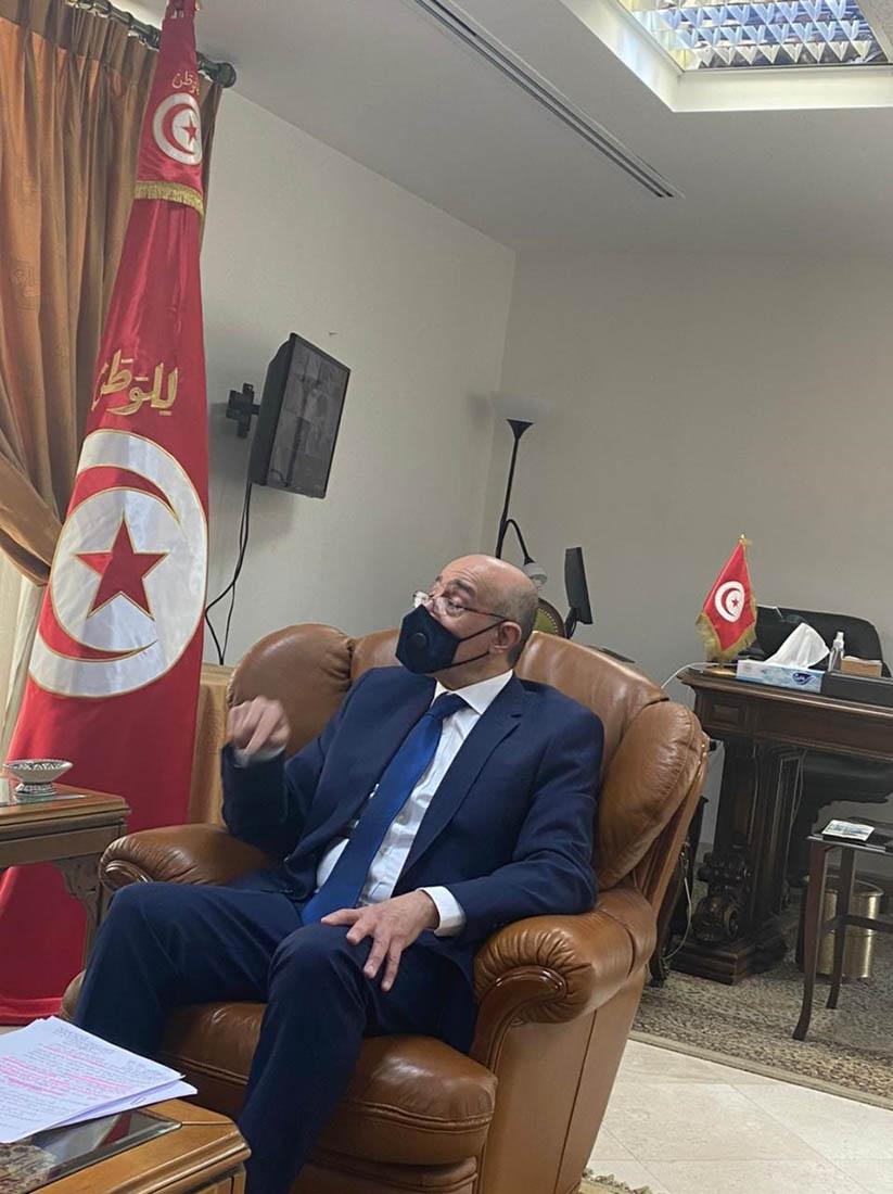 السفير التونسي الاردن بقيادة الهاشميين رمز للصمود
