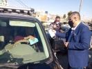 بلدية الزرقاء تطلق حملة لحث المواطنين للالتزام بالكمامة