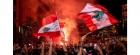 الرئيس اللبناني يترأس اجتماعا أمنيا بعد اتساع الاحتجاجات الشعبية