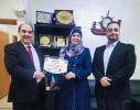 من الغذاء والدواء الزعبي مدربة معتمدة من اتحاد المدربين العرب