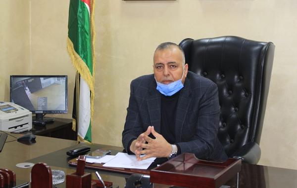 رئيس لجنة بلدية المفرق الكبرى حسن سالم الجبور يؤكد  نقف على مسافة واحدة من الجميع لخدمة مدينة المفرق ومناطقها
