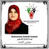الدكتورة رندة يوسف عمايري رئيساً لمجلس الأمناء مؤسسة الابداع الفلسطيني الدولية