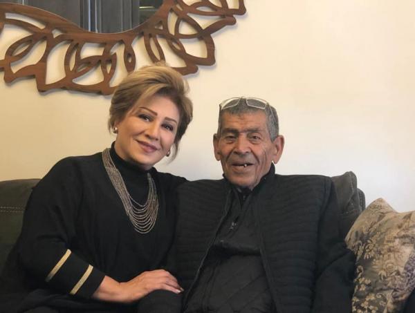 وفاة والد الفنانة أمل الدباس
