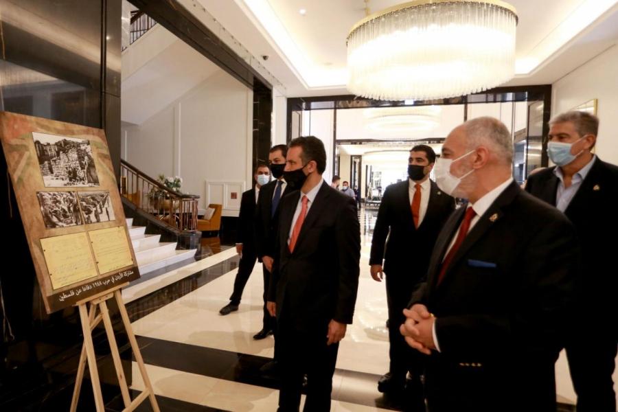 وزير السياحة والآثار يفتتح معرض صور لمراحل تأسيس الدولة الأردنية