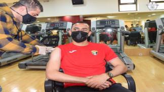 لاعبو المنتخب الوطني يتلقون الجرعة الأولى من مطعوم كورونا