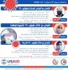 الممرضين والصيادلة تطلقان دورات في علاج والتعامل مع فايروس كورونا