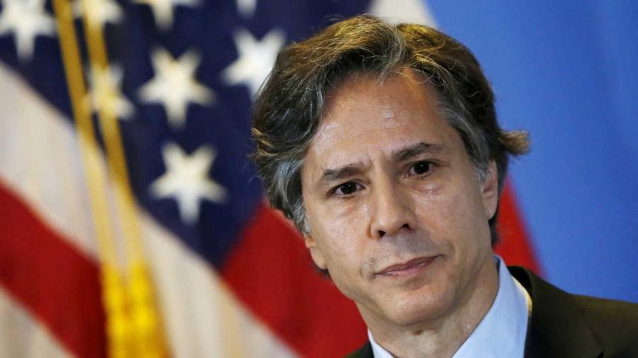 وزير الخارجية الأميركي يهنئ بمئوية الدولة