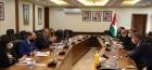 وزير التخطيط يلتقي وفدا من مجموعة فورتسكو الاستثمارية