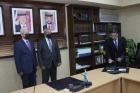 ناصر أبو هدبه بمناسبة اداء القسم القانوني