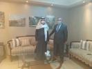 وزير البيئة يلتقي السفير الإماراتي