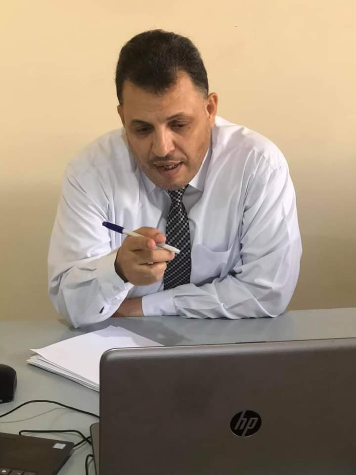 خليل شحاده  يحصل على على درجة الدكتوراه