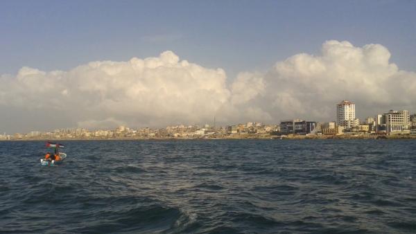 إصابة صياد برصاص الاحتلال في بحر غزة