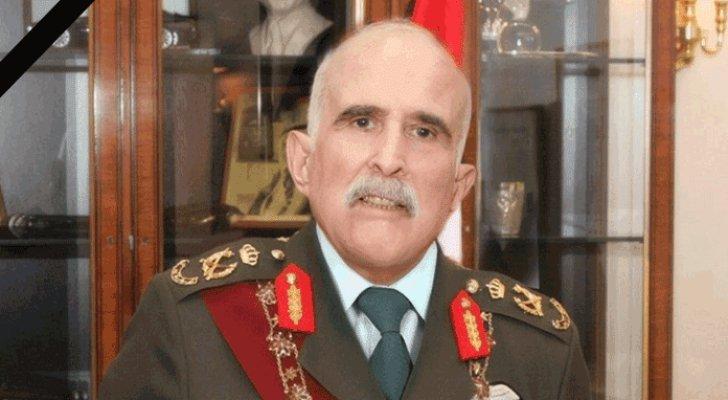 الطيار مالك باشا الحباشنة ينعى صاحب السمو الملكي الأمير محمد بن طلال