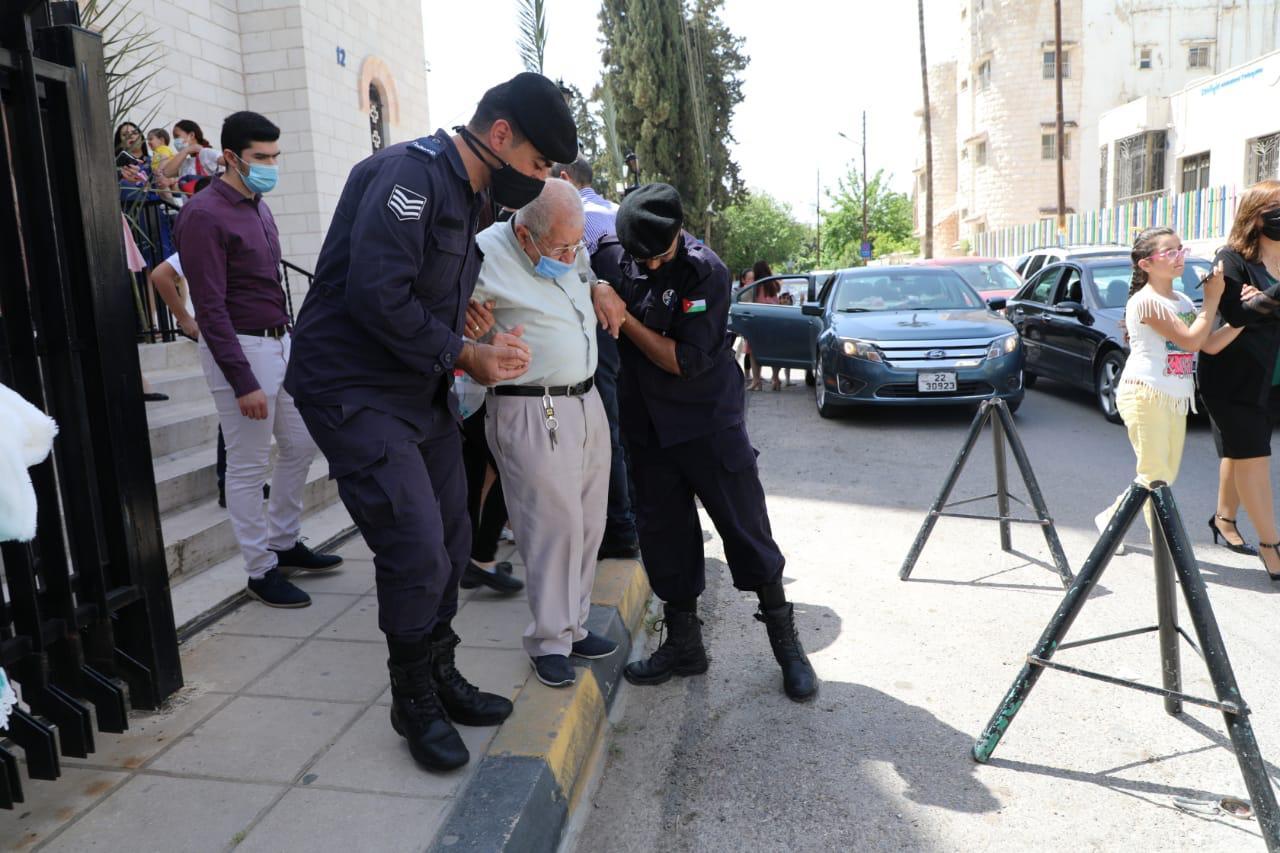 «الأمن العام» تنفذ إجراءات وقائية ومرورية بالتزامن مع عيد الفصح المجيد