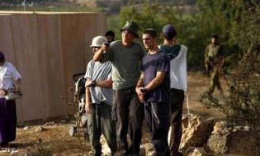 مستوطنون يهاجمون بلدة قصرة جنوب نابلس
