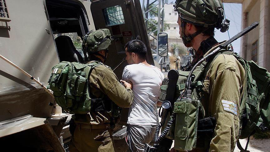 الاحتلال الاسرائيلي يعتقل 17 فلسطينيا
