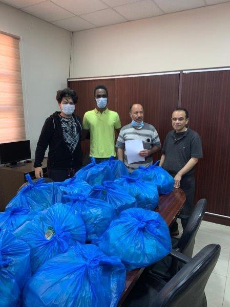 قسم الكيمياء بجامعة البترا ينظم حملات رمضانية خيرية