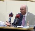 الفايز يواصل لقاءاته مع فعاليات من محافظة العاصمة