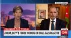 لقاء نائب رئيس الوزراء وزير الخارجية وشؤون المغتربين أيمن الصفدي مع بيكي أندرسون عل قناة CNN