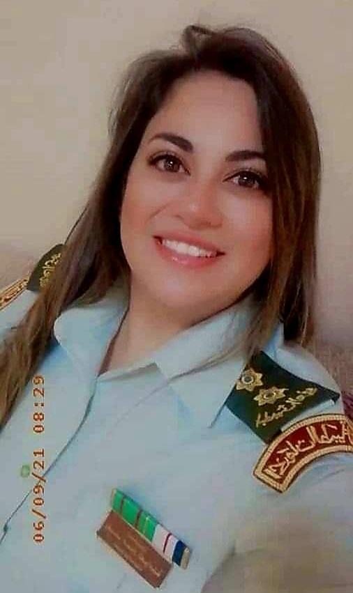 بسام العوامله يهنئ إبنة أخية بالثقة الملكية بترفيعها برتبة ملازم أول