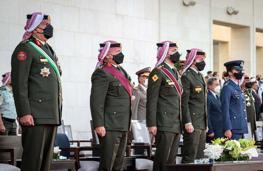 الملك يرعى احتفال القوات المسلحة والأجهزة الأمنيّة بمئوية الدولة