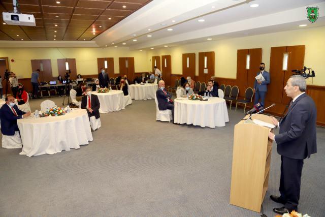 افتتاح المكتب الإقليمي للهيئة الألمانية للتبادل العلمي بالجامعة الأردنية