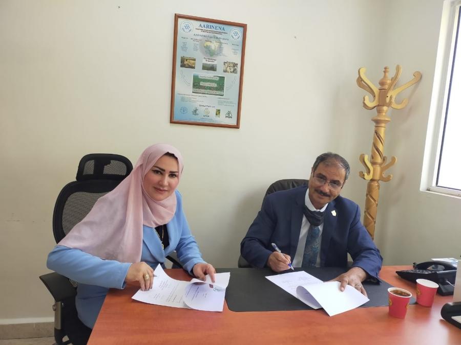 اتفاقية شراكة بين الارينينا والاتحاد النوعي للمزارعات المنتجات