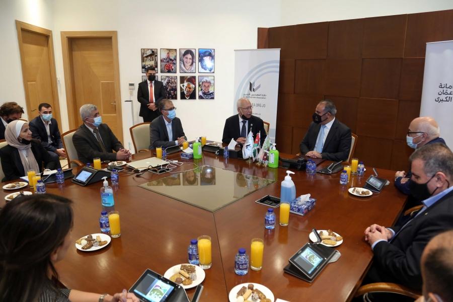 المهندسين وأمانة عمان توقعان اتفاقية تعاون لتنفيذ مشروع حديقة المهندسين العرب