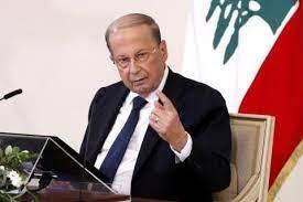 الرئيس اللبناني يطلب دعم الصليب والهلال الاحمر الدولي لاعادة النازحين السوريين الى بلادهم
