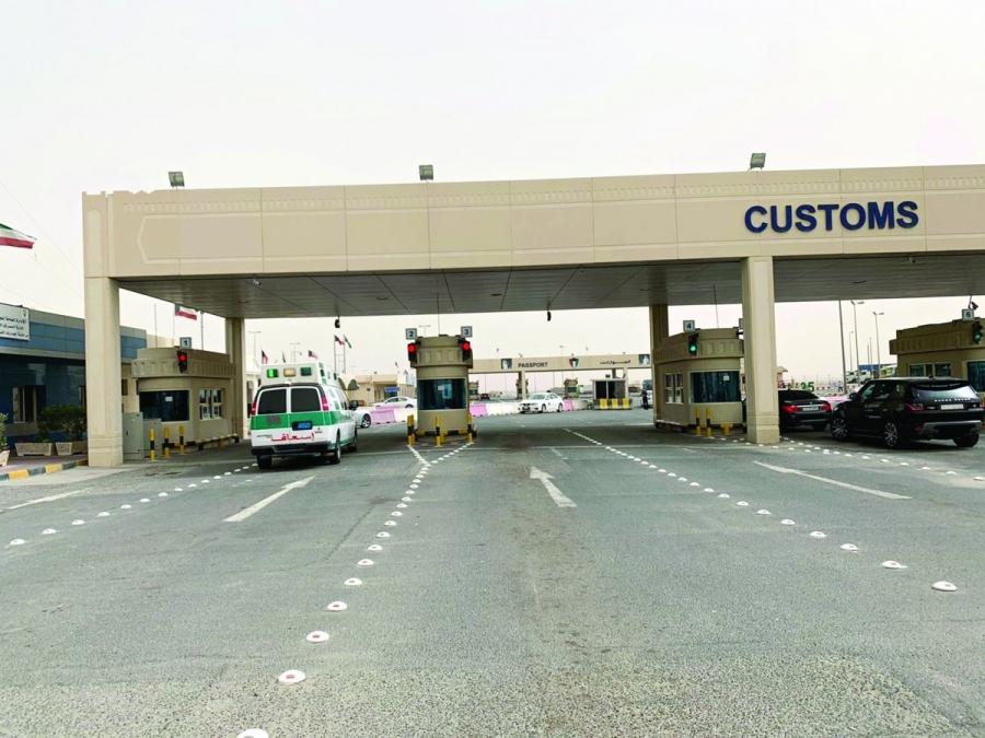 تعديل مواعيد الدخول من الحدود البرية لدولة الكويت ابتداء من الأحد المقبل