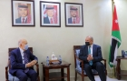 العودات يلتقي السفير المغربي