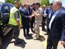 جمعية صقور الاردن التعاونيه تكرم القيادات العسكرية والامنية في العقبه.