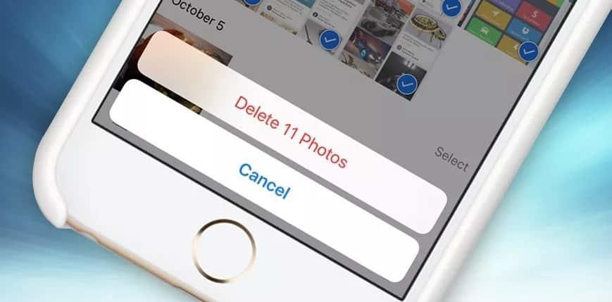 3 طرق لحذف جميع الصور في هاتف آيفون