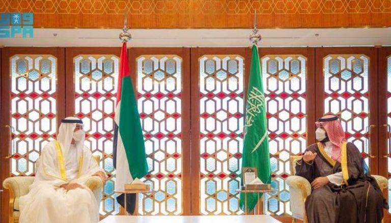 ولي عهد أبوظبي الشراكة مع السعودية مستمرة لمصلحة البلدين والمنطقة