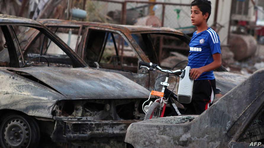 مقتل 25 شخصا و47 جريحا في تفجير ببغداد