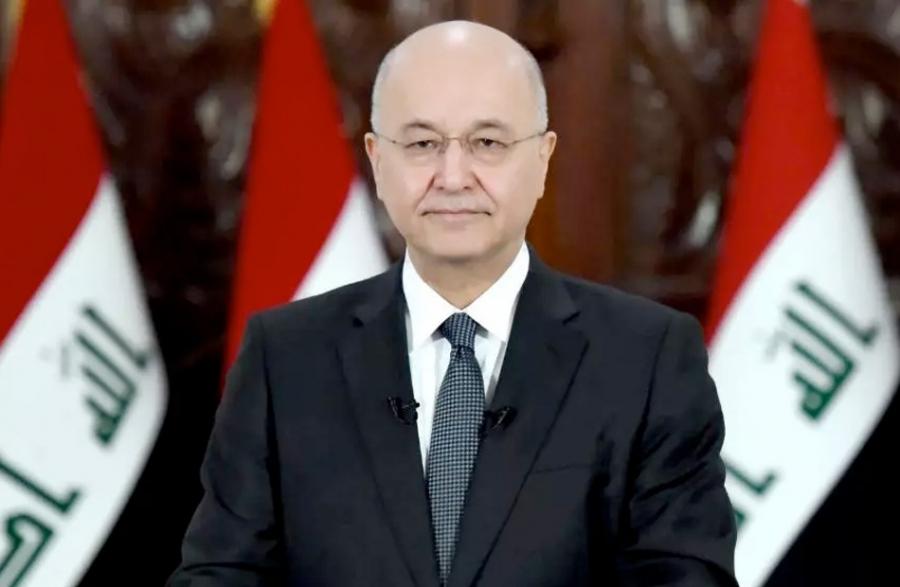 برهم صالح يدعو لترسيخ العمق العربي للعراق