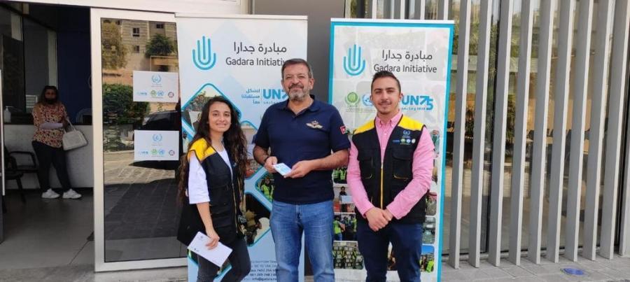مبادرة جدارا نفذت حملة كسوة العيد بالتعاون مع  وسط البلد