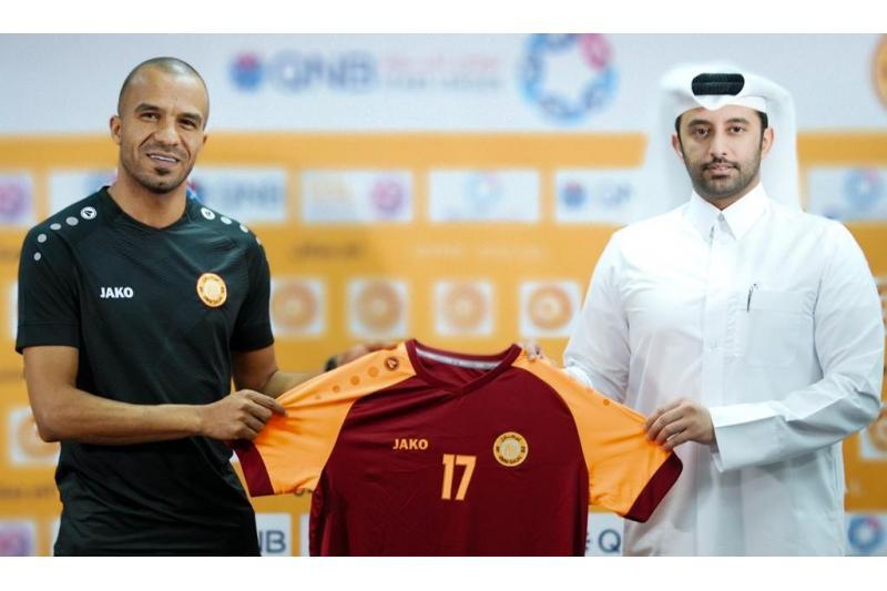 نادي أم صلال القطري لكرة القدم يعلن تعاقده رسميا مع الأردني ياسين البخيت